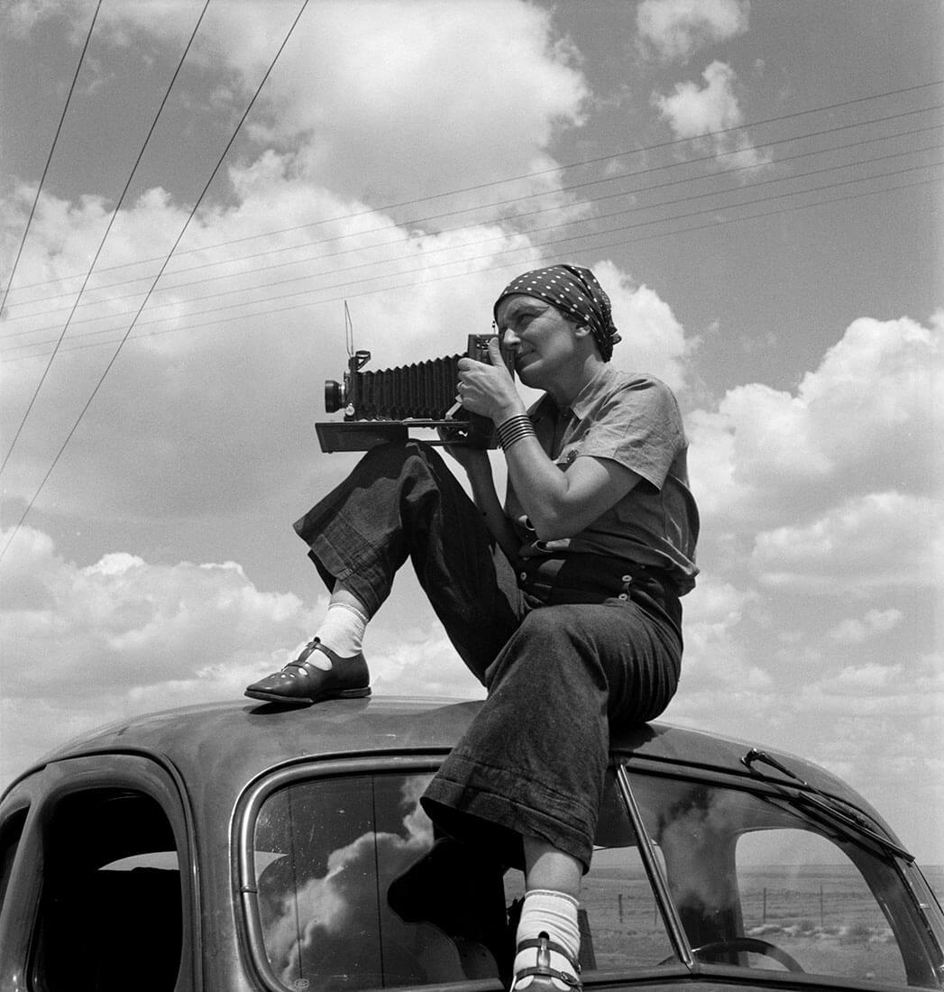 Dorothea Lange au Texas sur les Plaines