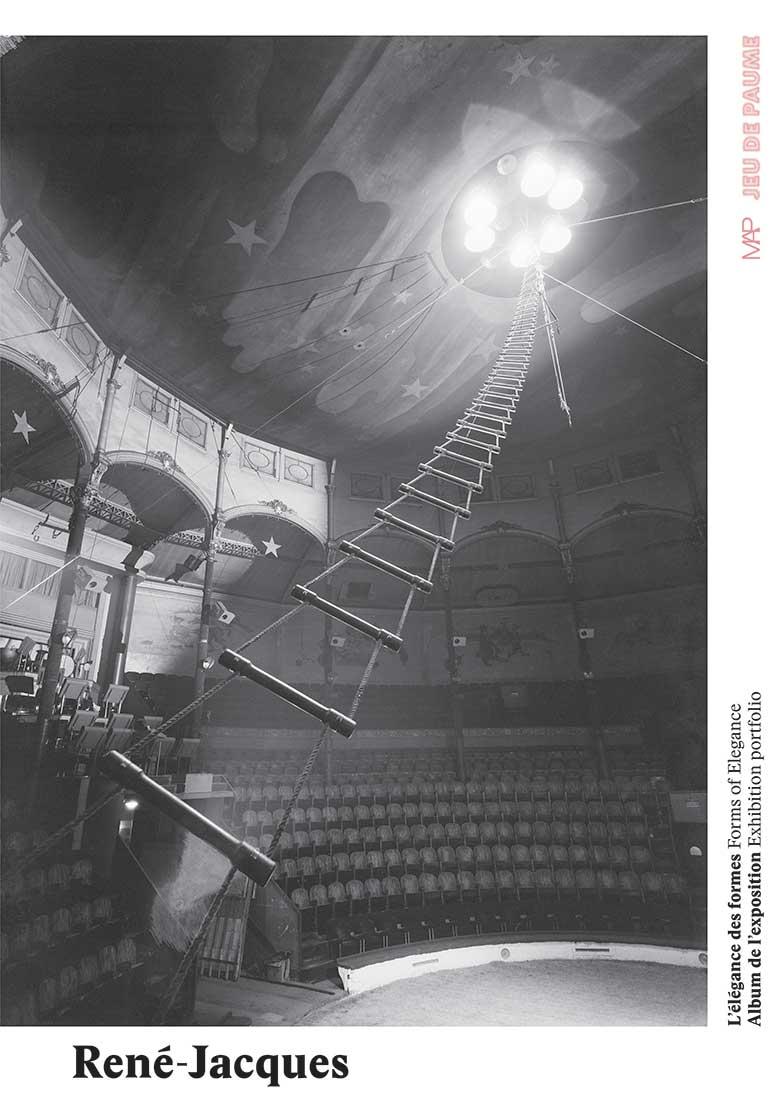 Couverture de l'album de l'exposition René Jacques