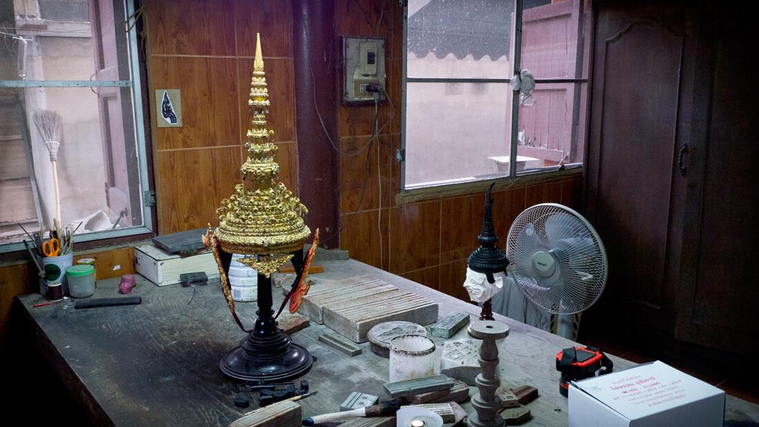 Tournage de Mongkut