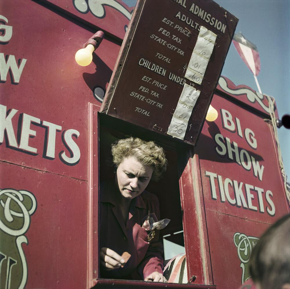 Le cirque familial Rambaugh, Indiana, États-Unis