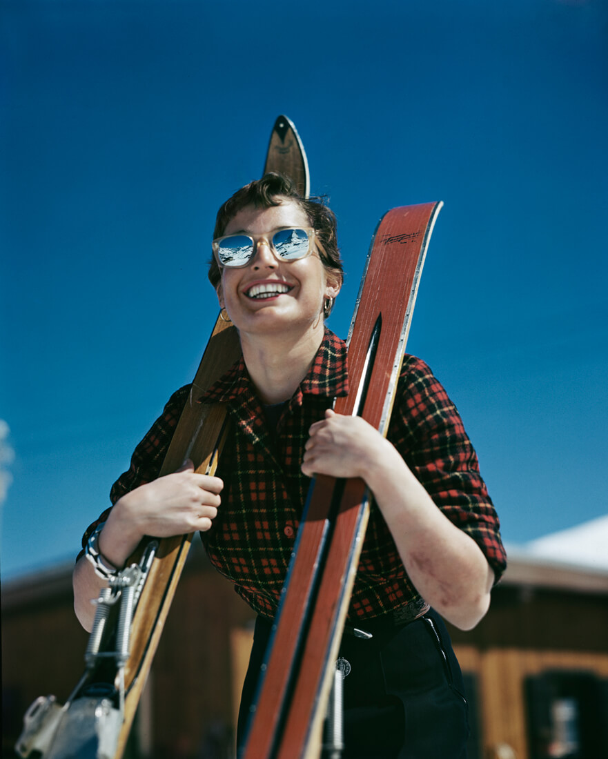 L'Américaine Judith Stanton, Zermatt, Suisse