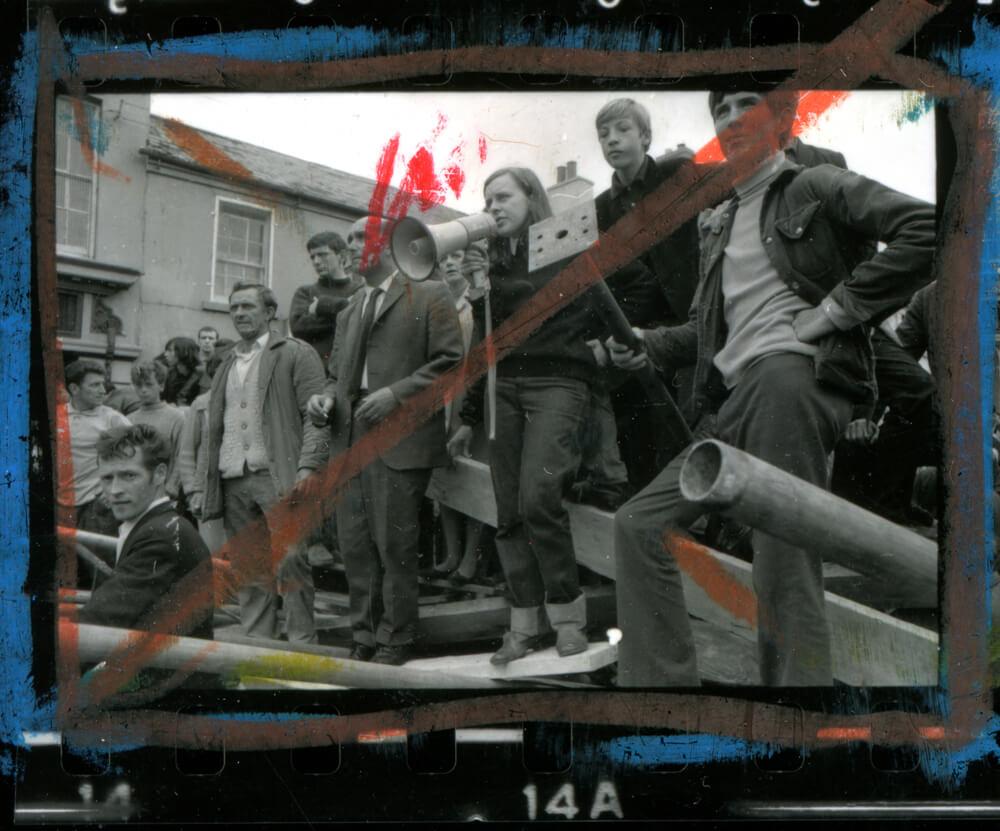 Août, 1969, Bernadette Devlin, bataille du Bogside, Londonderry