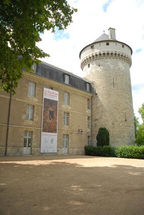 Vue du Château de Tours