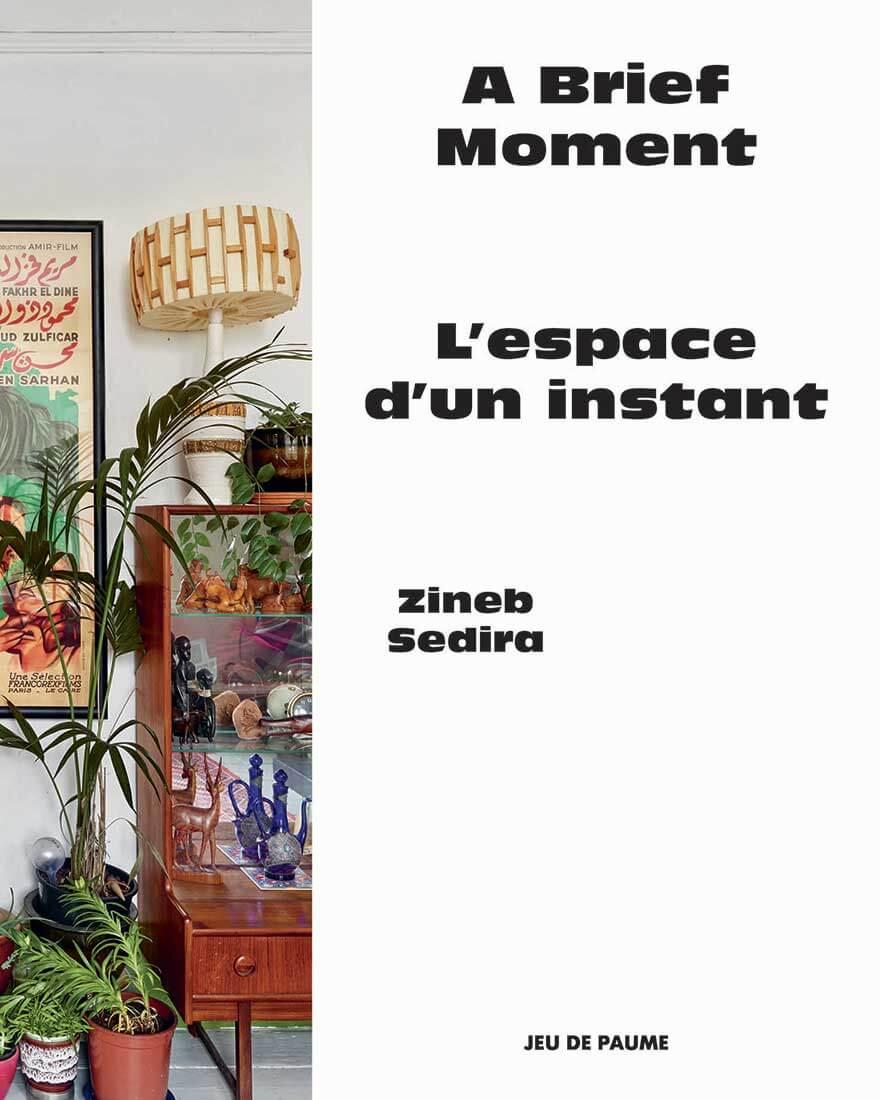 Couverture du catalogue de l'exposition Zineb Sedira