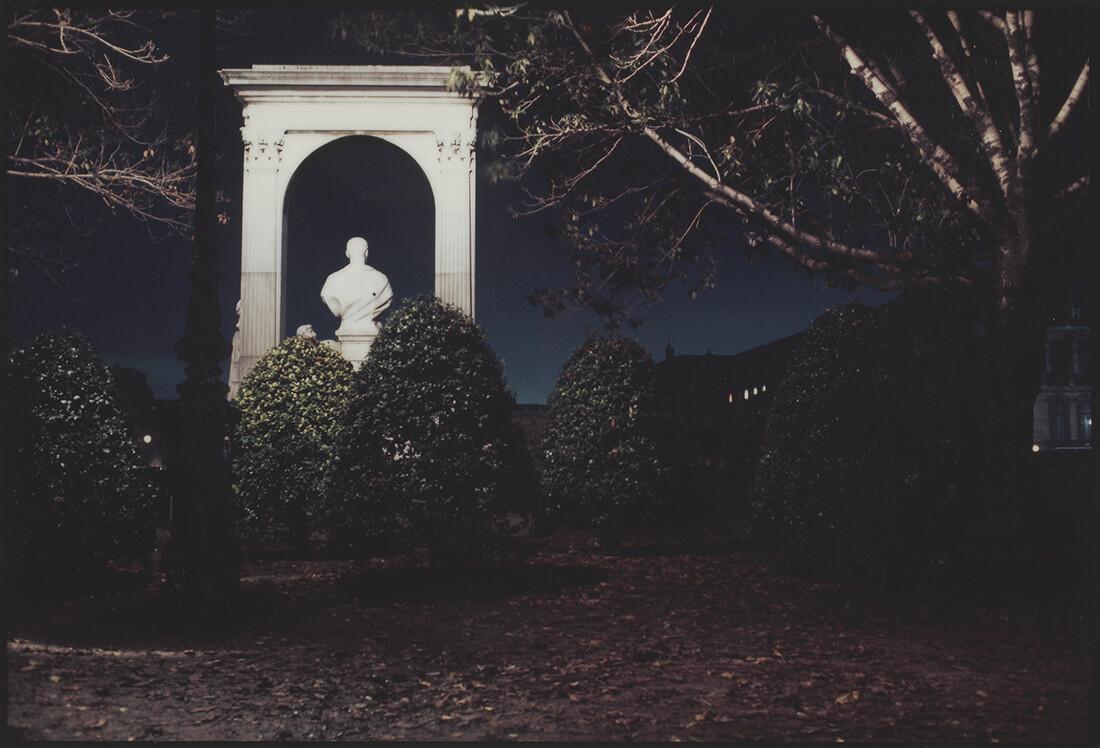 Sculpture dans un parc