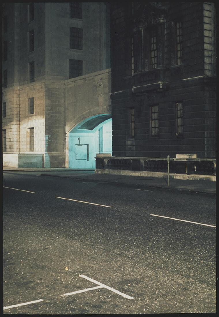 Rue, passage et effet lumineux
