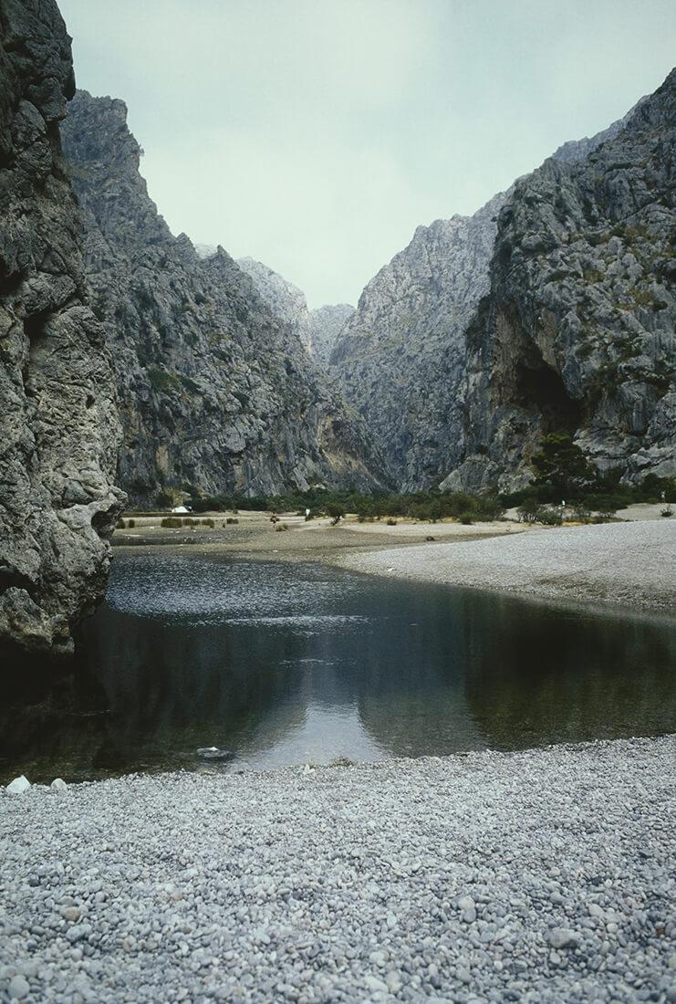 Crique, Majorque