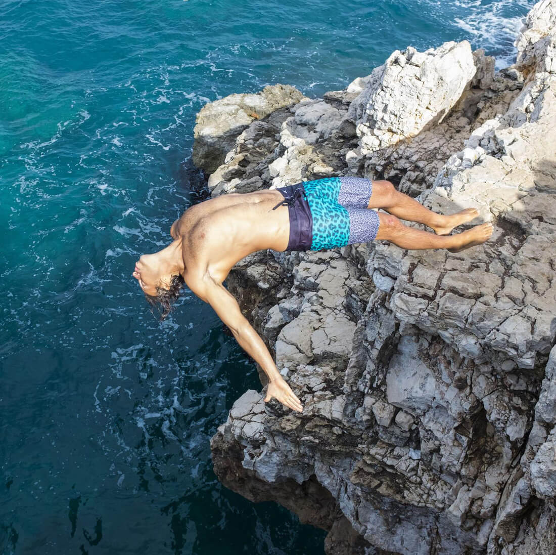 High Stakes Cliff Diving in Italy