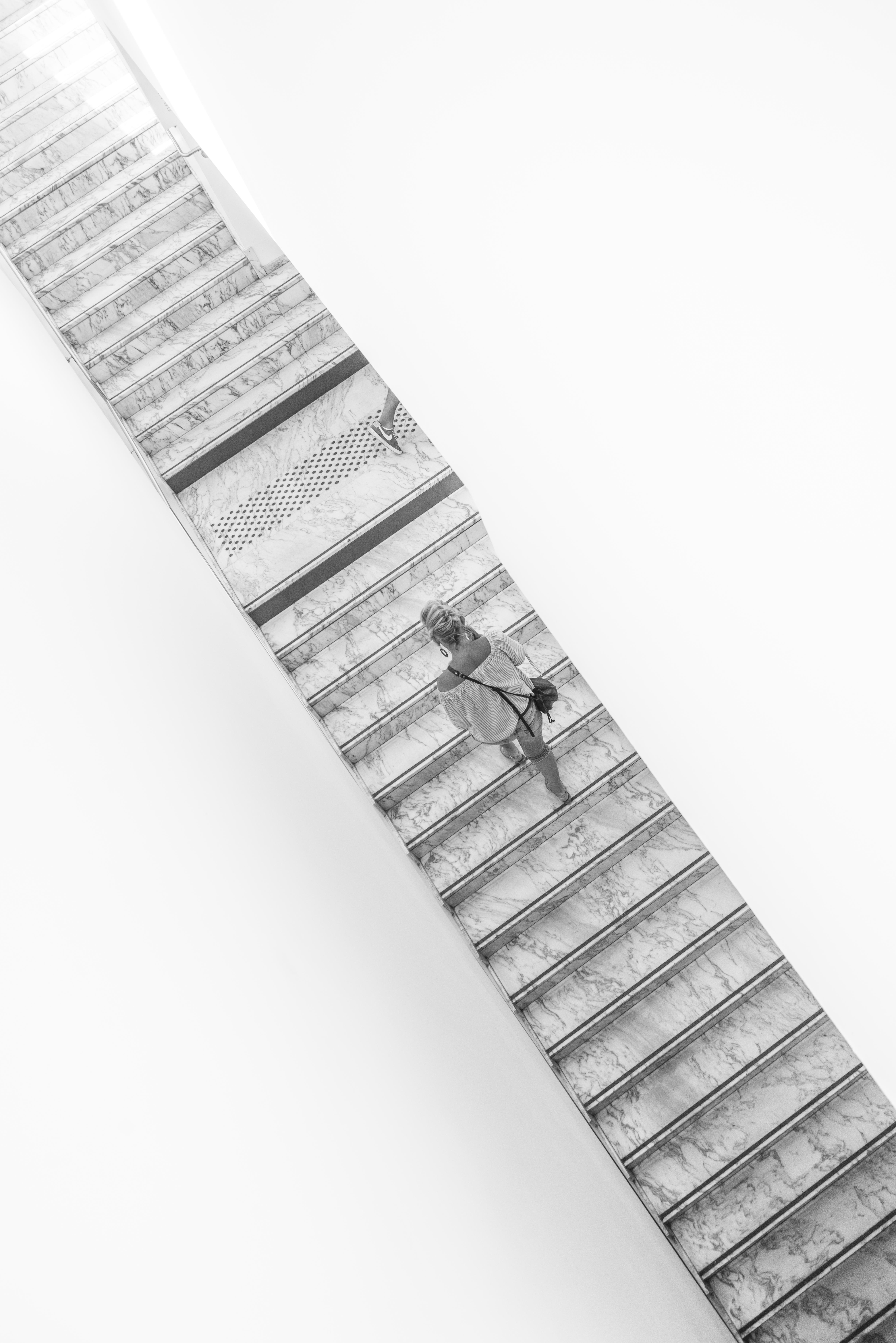 L'escalier historique du Jeu de Paume
