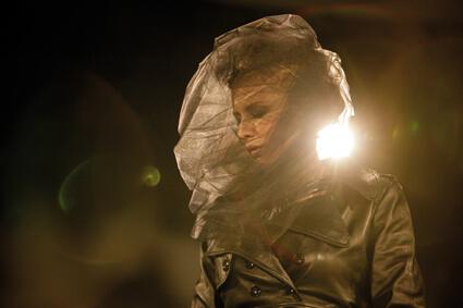 Cate Blanchett pendant la performance