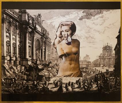 Untitled (La Dolce Vita featuring René Magritte) /  Sans titre (La Dolce Vita avec la participation de René Magritte)