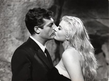 Anita Ekberg et Marcello Mastroianni, La Dolce Vita
