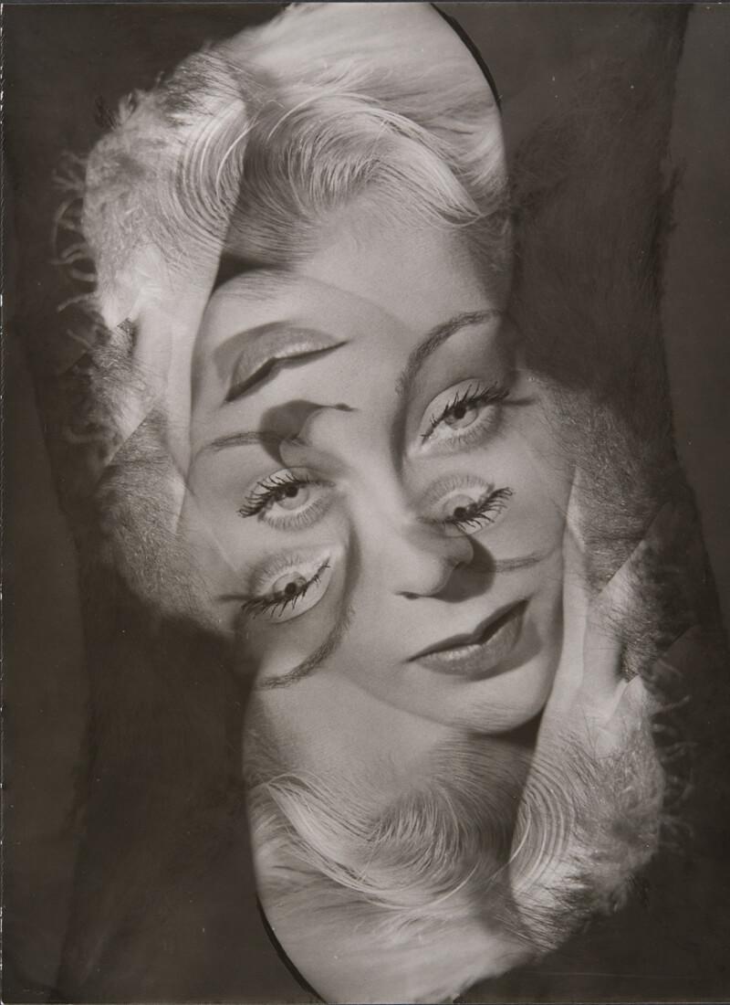 Expérimentation pour un portrait de femme