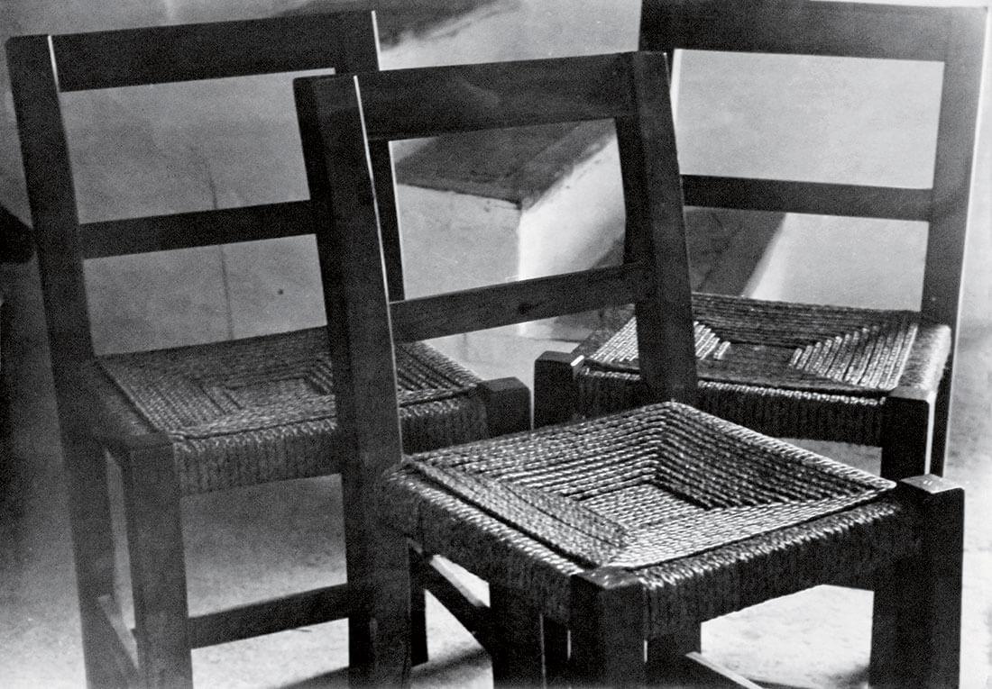 Trois chaises