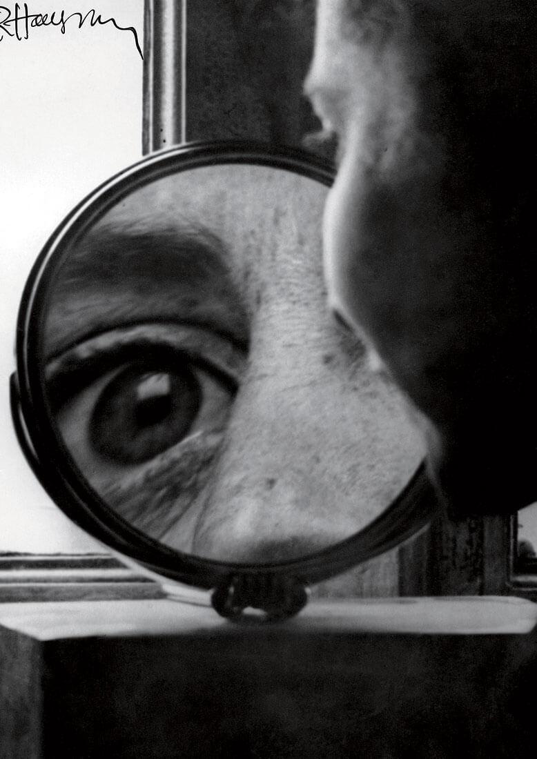 Regard dans le miroir