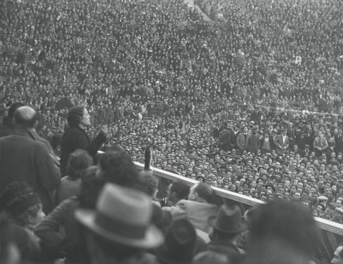 Madrid (Manifestation du Front Populaire après les élections février 1936)