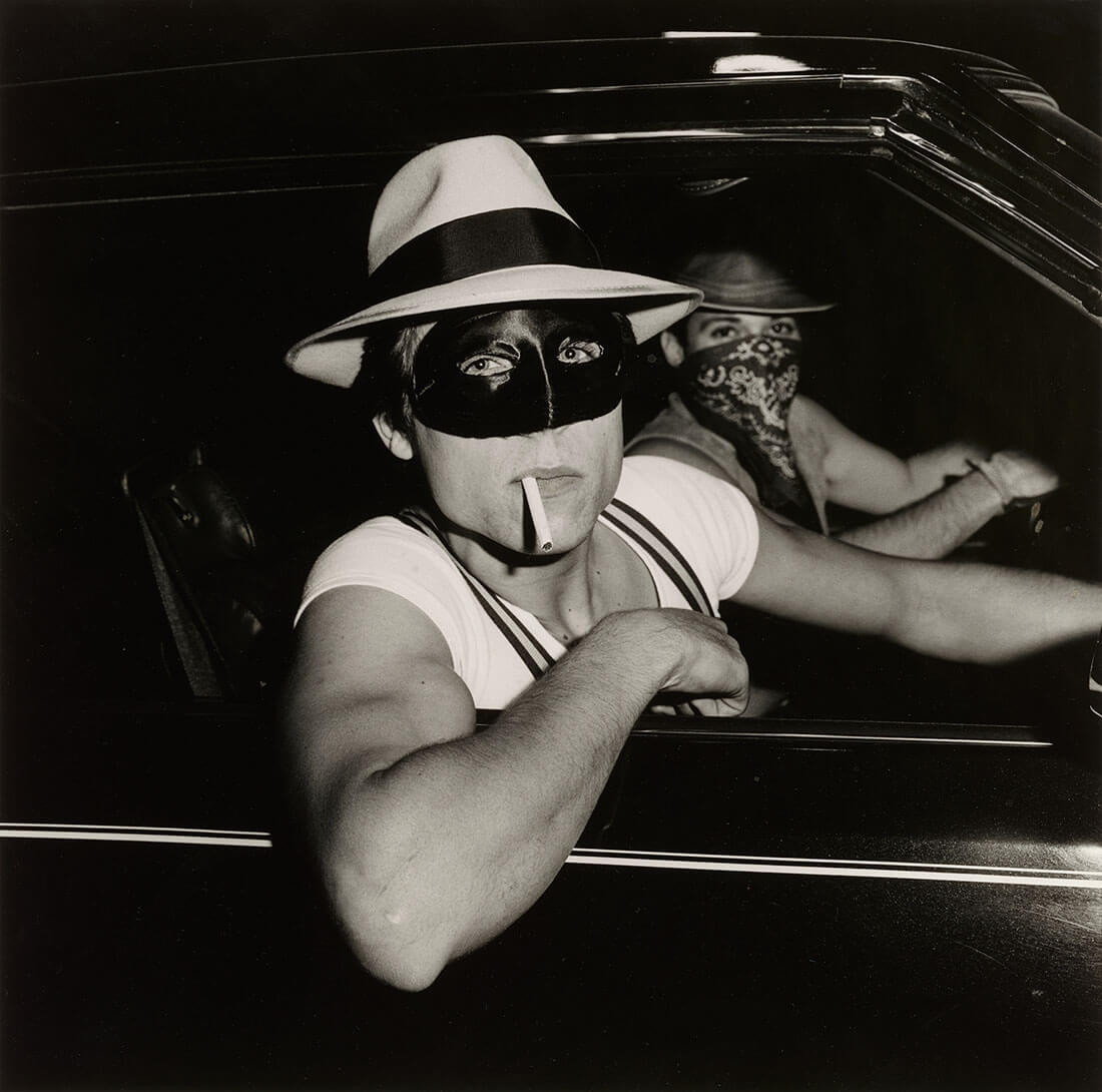 Boys in Car, Halloween
