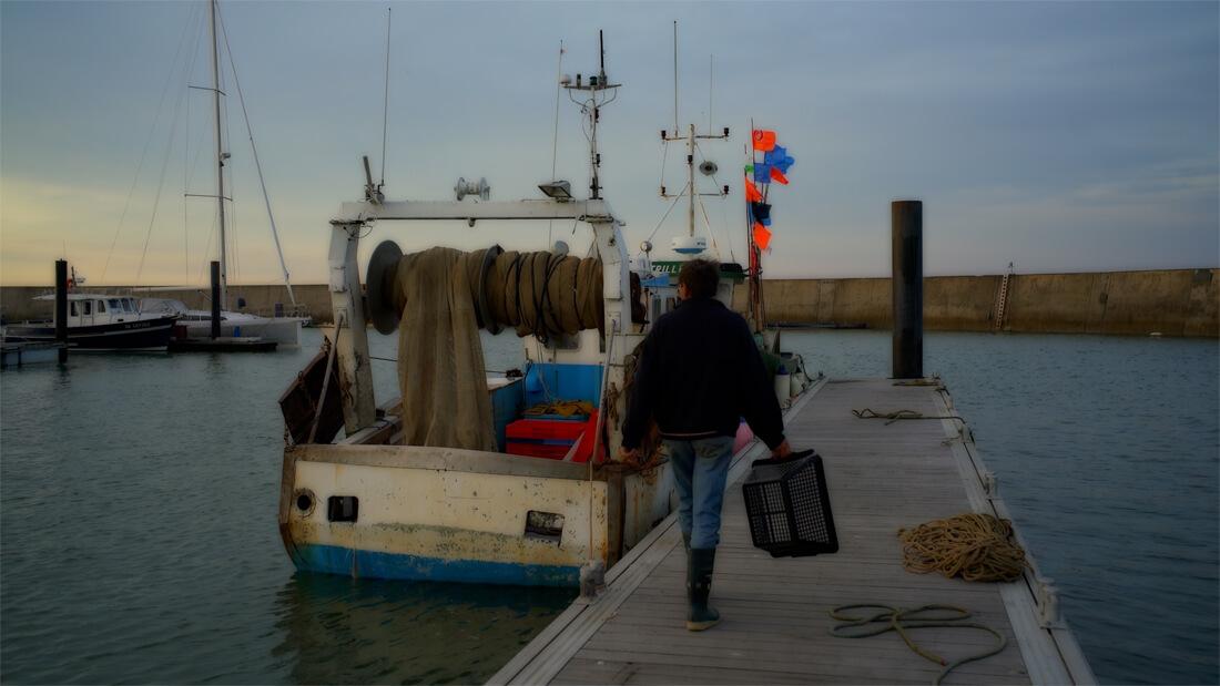 convergence d'images vers le port