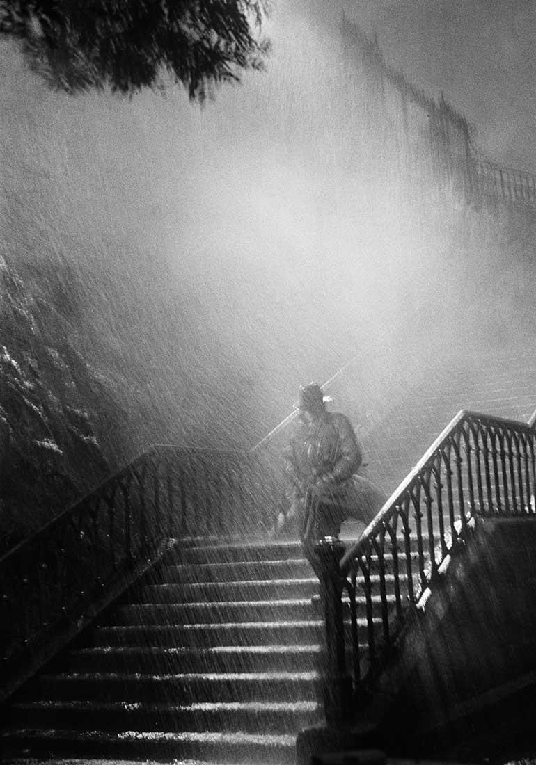 L'homme de la nuit, sur le tournage du film Remorques de Jean Grémillon