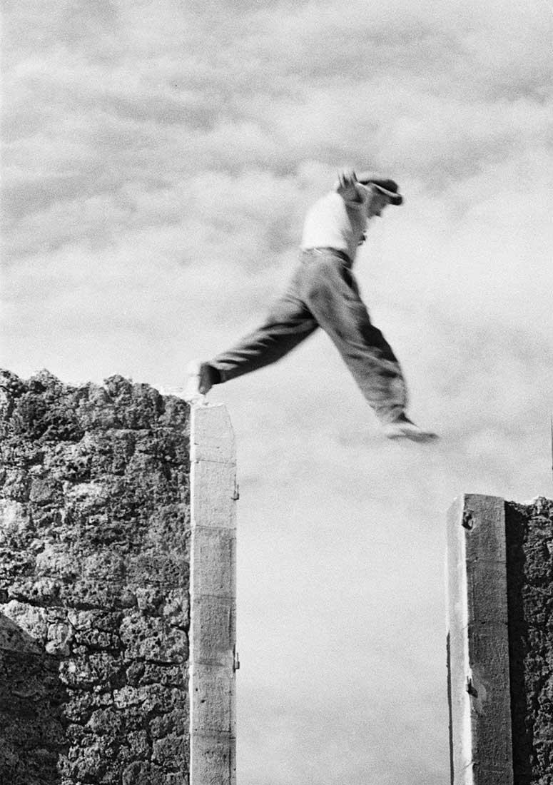 L'homme qui saute