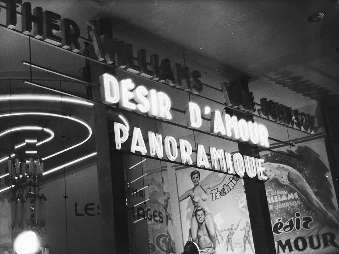 Cinéma à Pigalle