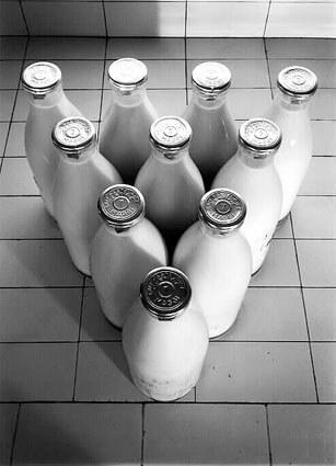 Publicité pour le lait Maggi