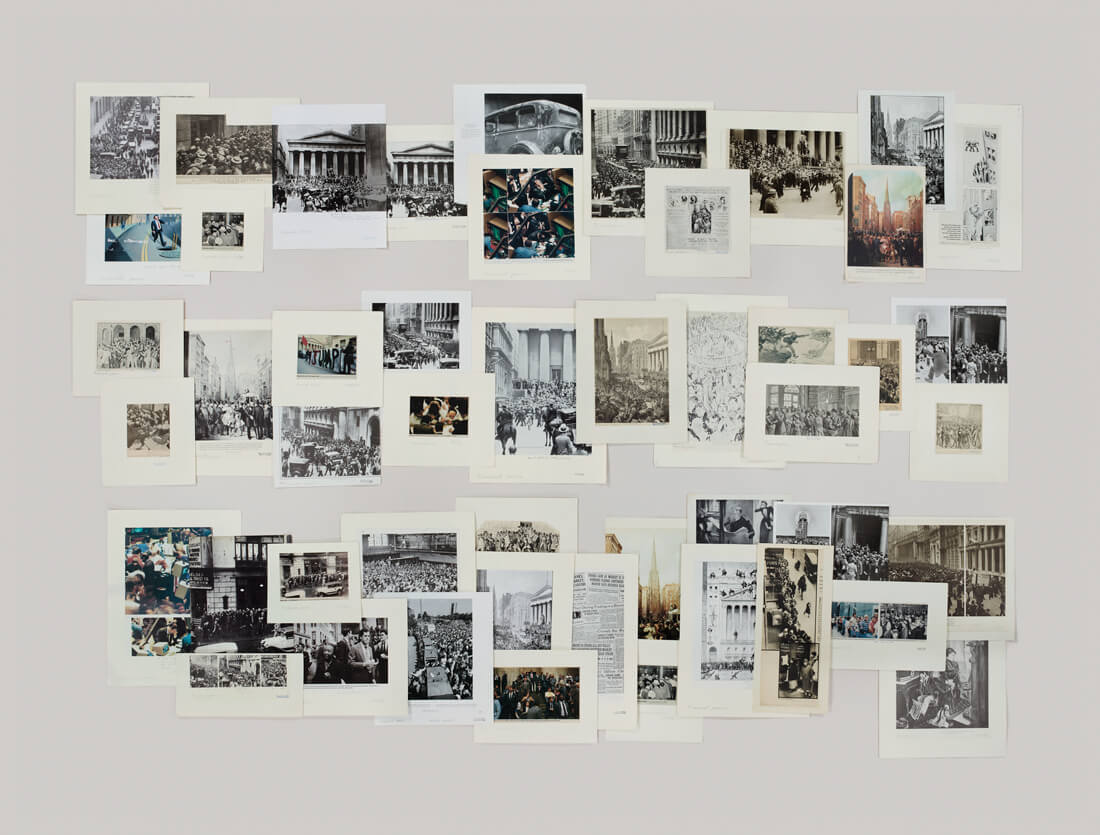 Folder: Financial Panics, The Picture Collection, 2013  Archival inkjet print /119,4 x 157,5 cm framed Courtesy of the artist © 2014 Taryn Simon