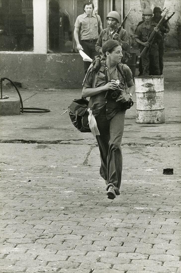Portrait de Susan Meiselas, Monimbo, Nicaragua