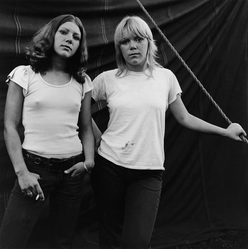 Debbie et Renee, Rockland, Maine, 1972