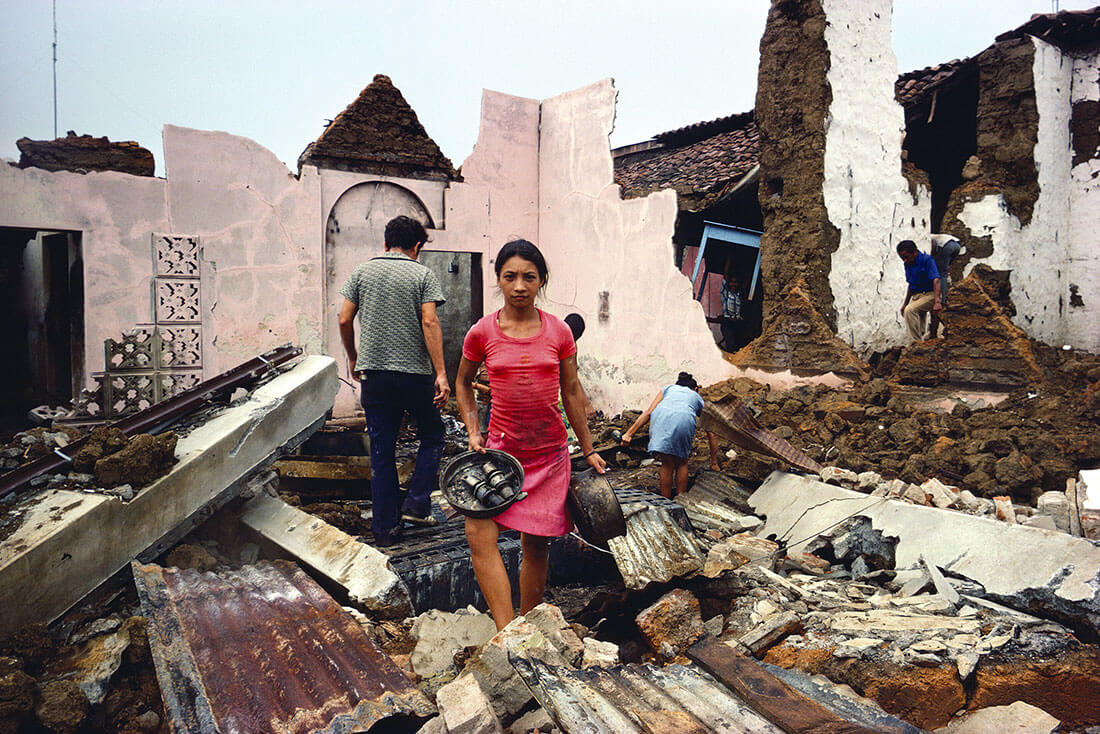 Retour chez soi, Masaya, Nicaragua