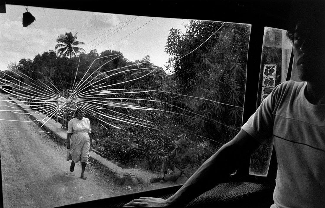 Route pour Aguilares, El Salvador