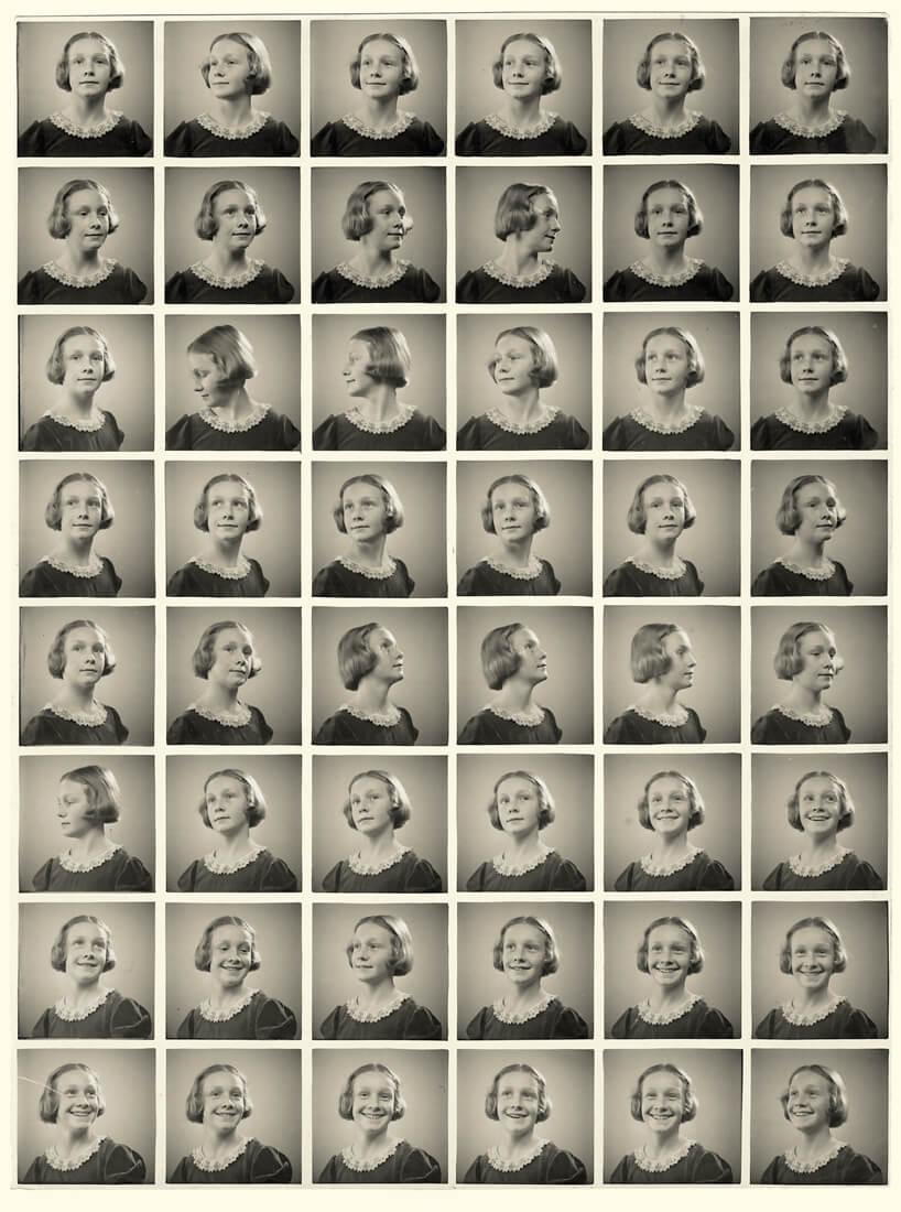 Portraits multiples, procédé Polyfoto