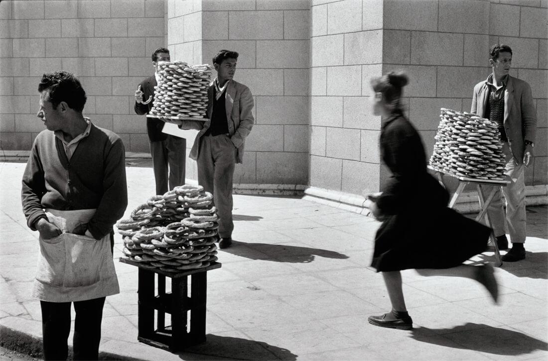 Vendeurs de pain, Athènes