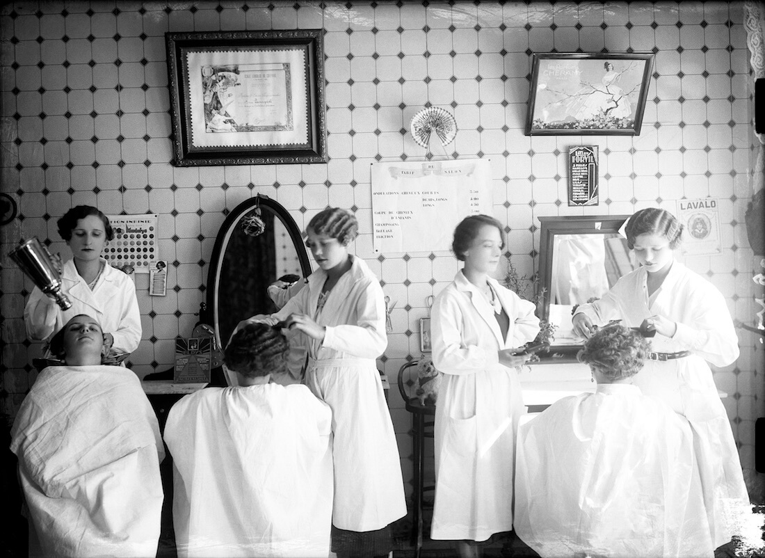 Sans titre [certificat école lensoise de coiffure], sans date