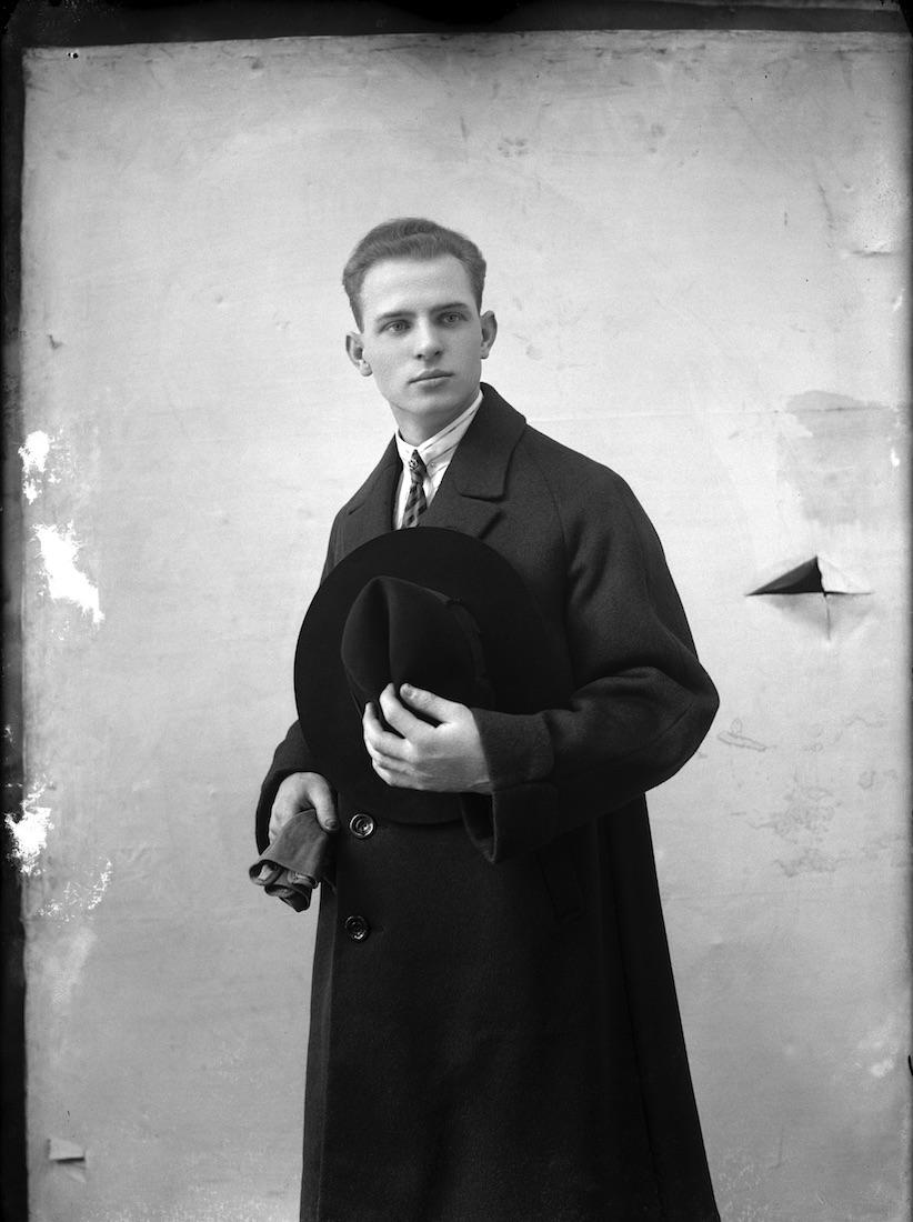 « Autoportrait en Al Capone », 1925