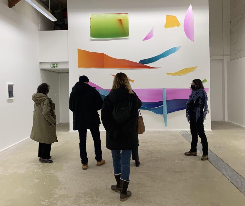 Visite des Amis au Centre Photographique d'Ile-de-France