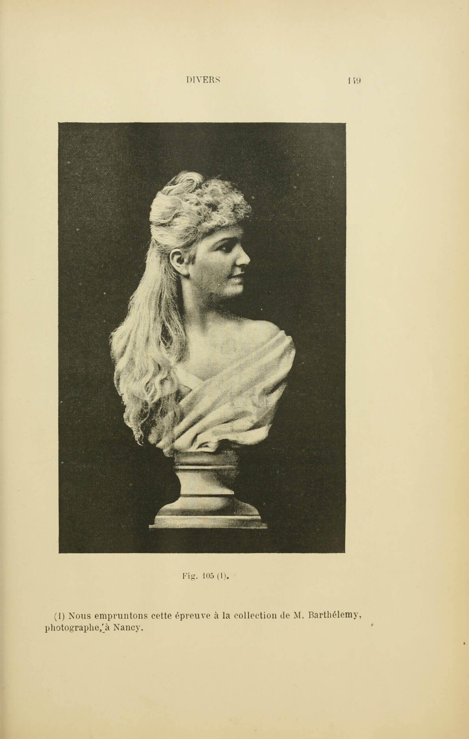 Albert Bergeret and Félix Drouin, «Reproductions directes». Les Récréations photographiques, Paris, Charles Mendel, 1891, p. 149 (Boston Public Library)