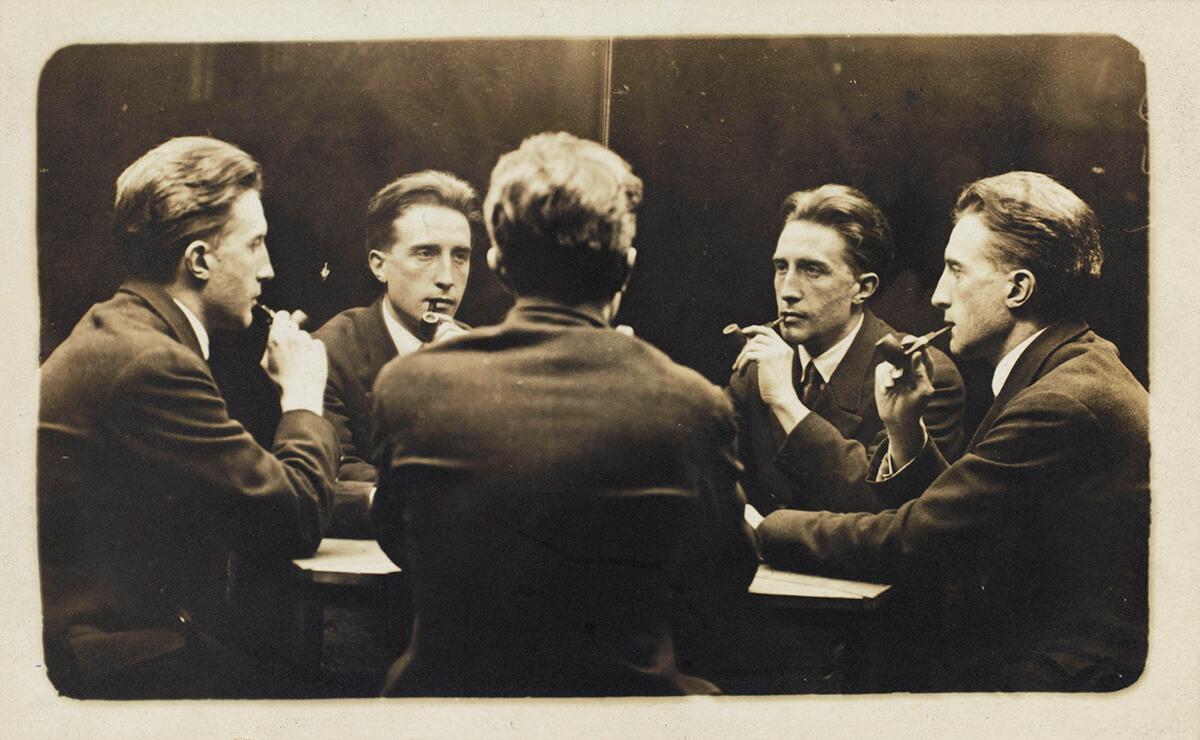 Duchamp autoportrait multiple