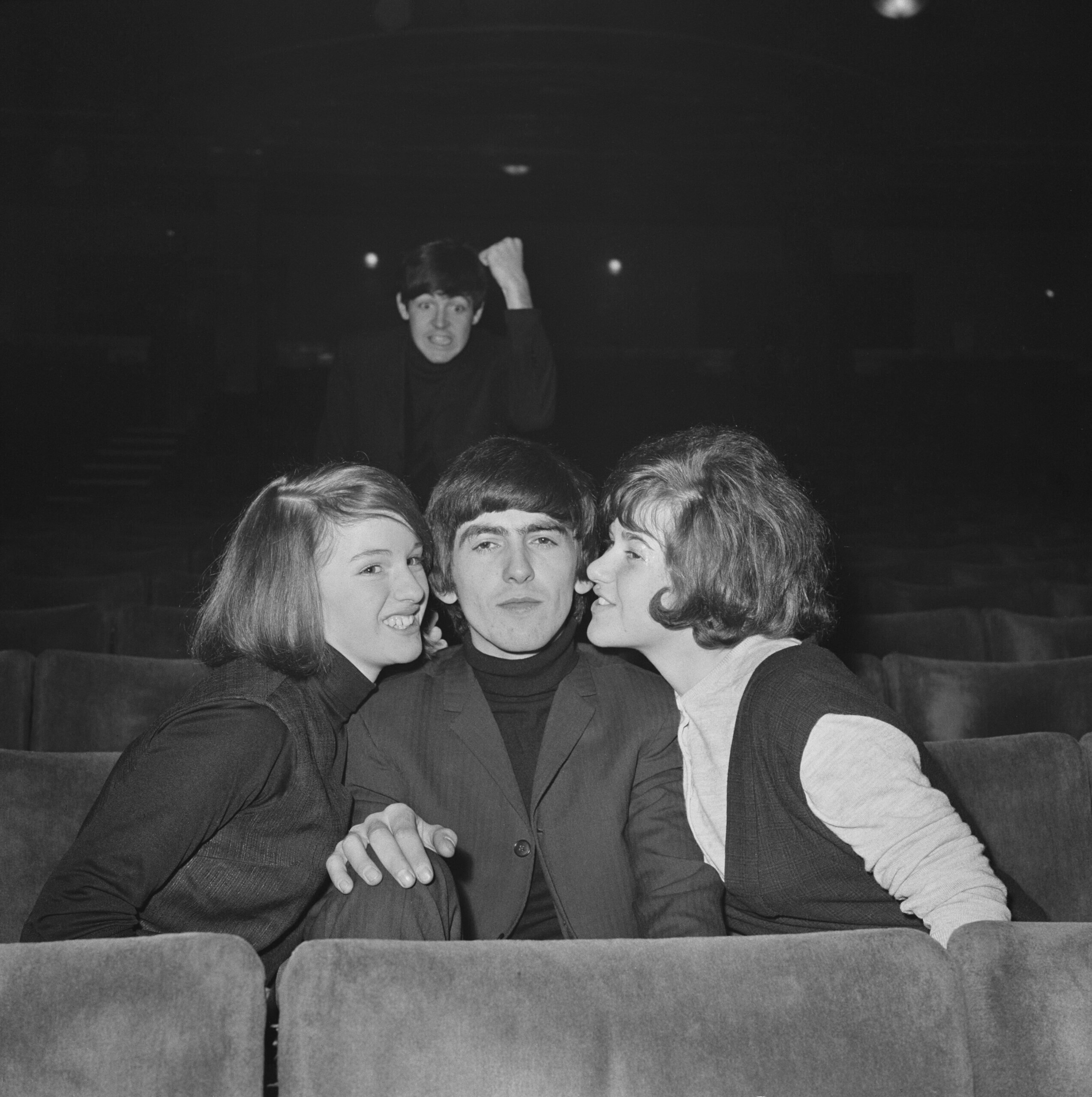 <i>Favourite Beatle</i>, Gaumont Cinema, Doncaster, December 10, 1963. Photo Mark and Colleen Hayward / Getty Images