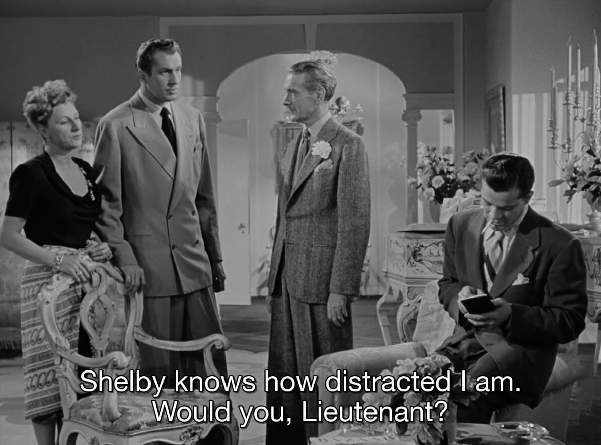 <i>Laura</i>, directed by Otto Preminger, 1944. USA, 88 min