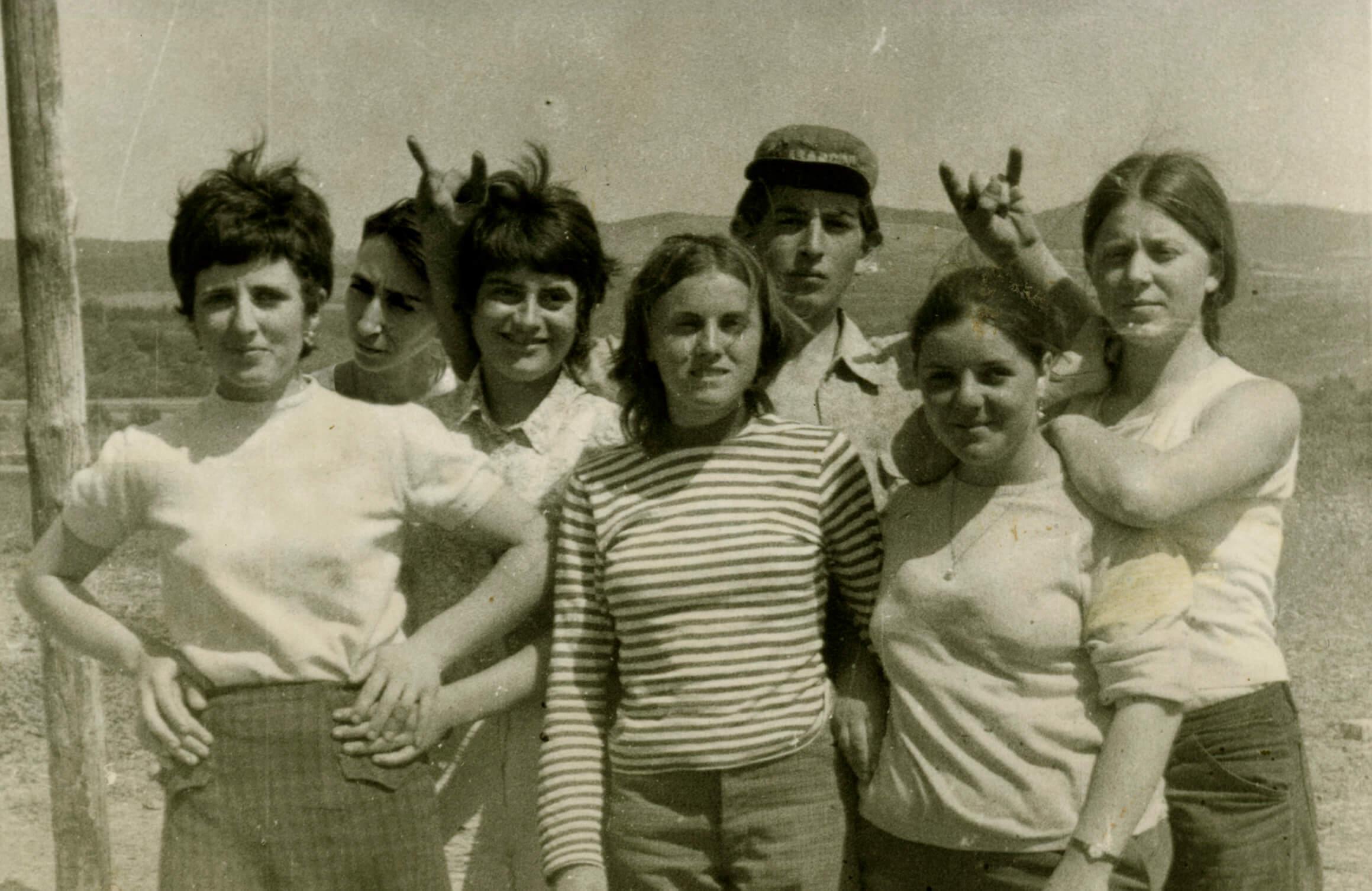 Moira Ricci, <em>20.12.53-10.08.04</em> (maman avec oncle Gianni et quelques amies), 2004-2014