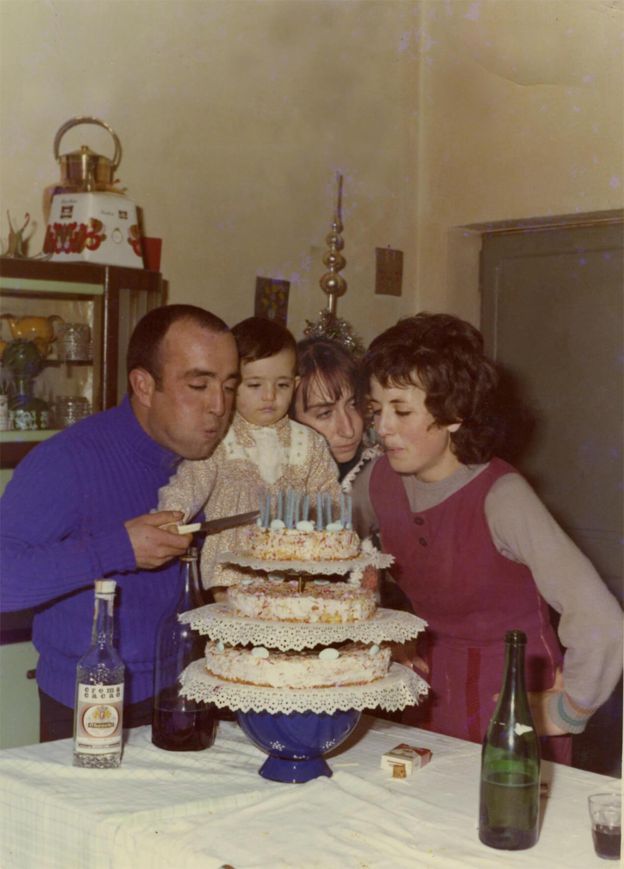 Moira Ricci, <em>20.12.53–10.08.04</em> (oncle Auro, tante Claudia et maman), 2004-2014