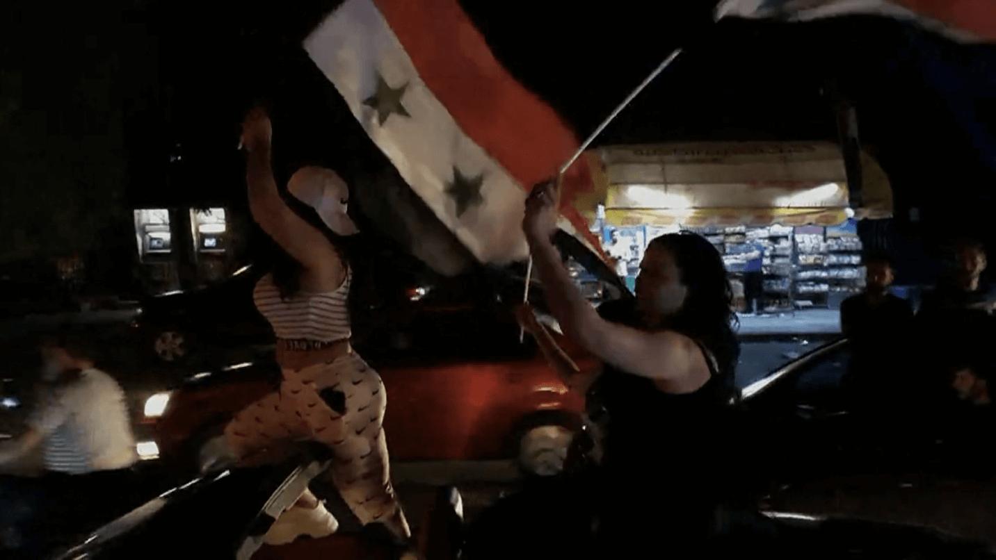 Abounaddara, <em>La Femme au drapeau</em> © Abounaddara Films 2021